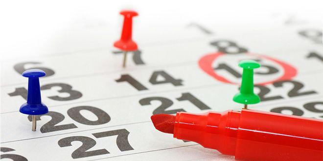 Orari e giorni di chiusura nel mese di Agosto