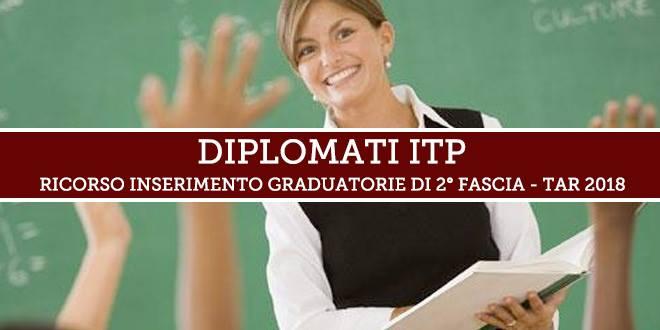 Prorogata al 12 giugno la scadenza per le adesioni al ricorso per l'inserimento nelle Graduatorie d'Istituto di 2° fascia dei Diplomati ITP