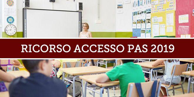 Ricorso per l'accesso Abilitazione insegnamento 2019