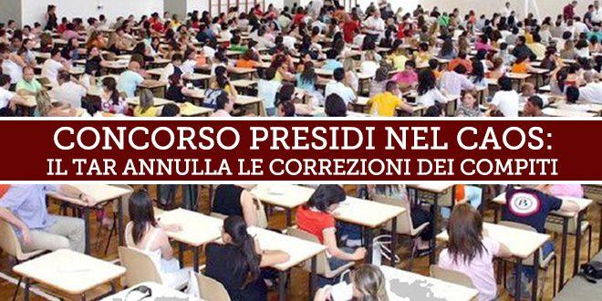 Concorso presidi nel caos: il Tar annulla le correzioni dei compiti In Campania più di 500 ricorsi