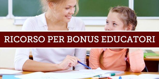 Ricorso per Bonus Educatori