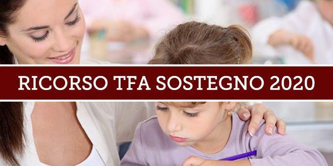 Ammissione TFA Sostegno 2020
