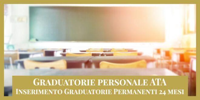 Ricorso Personale ATA – Graduatorie permanenti (24 Mesi)