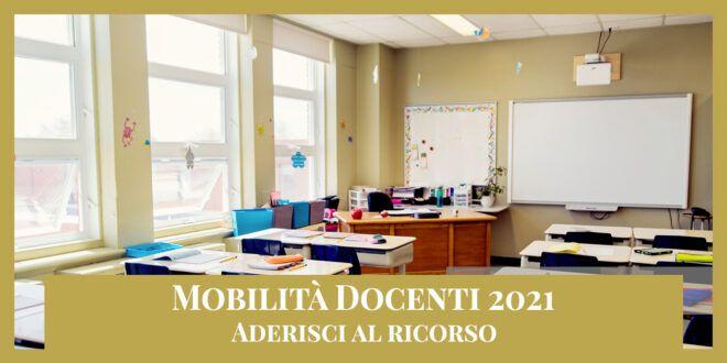 Ricorso Mobilità docenti 2021